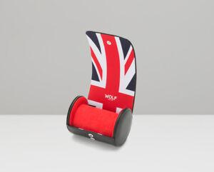 WOLF Navigator UK Flag Single Watch Roll 523203 + FREE US SHIPPING