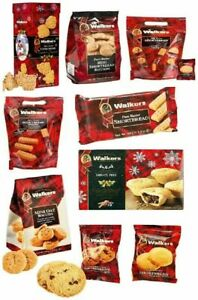 Walkers Shortbread Selection Christmas Scottish Biscuits Fingers Petticoat Tail