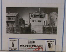 "HO HOn3 CRAFTSMAN BUILDERS IN SCALE ""THE WATERFRONT KIT #5"" NEW UNSTARTED"