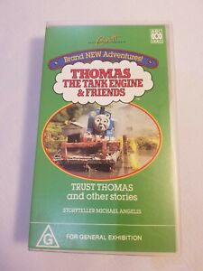 Thomas The Tank Engine & Friends - VHS Video - Trust Thomas and Other Stories