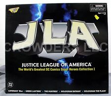 Justice League of America DC Comics Super Hero 5 Pack Collection I Kenner 98 NIP