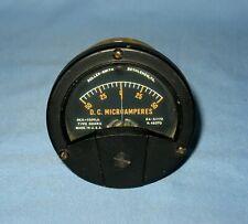 Vtg Nos Roller Smith 50 0 50 D C Microamperes Gauge Type Ddhrg
