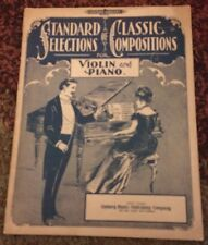 Standard Selections Of Classic Compositions For Violin And Piano
