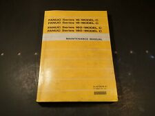 Fanuc B-62755En/01 Series 16 18 160 180 Model C Maintenance Manual: 1995, Used