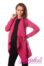 Purpless Maternity & Nursing Cascade Cardigan Sweater Size 8 10 12 14 16 18 9003 Dark Pink 12/14