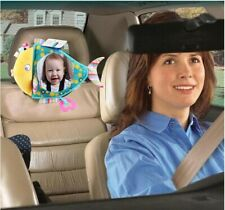 Newborn Car Seat Fish Toys Car Rearview Mirror Baby Hanging Doll Plush