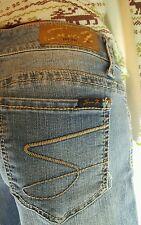 Seven 7 Jeans Size 29 Medium Denim Skinny Style Great Button S POCKETS (x)