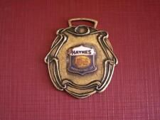 antique watch fob charm medal advertising ~ HAYNES America's first car Indiana