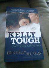 Jim Kelly Erin Kelly Jill Kelly Signed Kelly Tough Book HOF Buffalo Bills NFL