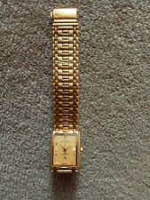 Ladies watches by  Christian Daniel 24k gold plated no A617G