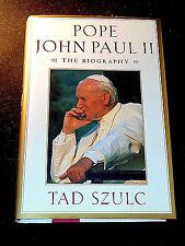 Pope John Paul II: The Biography by Tad Szulc