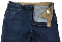 Duluth Trading Co Flex Ballroom Jeans Mens 40x32 Relaxed Dark Cotton Stretch