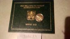 1 euro  cent € BU vatican 2018 officiel : vente du BU de 2018 au détail