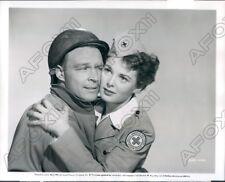 1952 Actor Alex Nicol & Judith Braun in Red Ball Express Press Photo