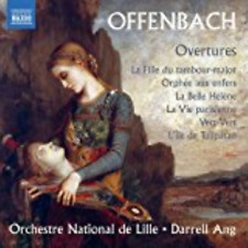 DARRELL ANG & LILLE NATIONAL ORCHESTRA-OFFENBACH: OVERTURES-JAPAN CD C15
