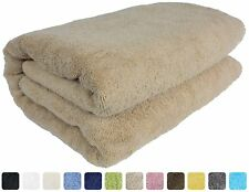 Luxury Spa 100% Combed Turkish Cotton Large Oversized Bath Sheet 40 x 80 Inch