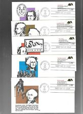 US FDC FIRST DAY COVERS CONSTITUTION 1987 SET OF 5 WITH BOOKLET BY LRC