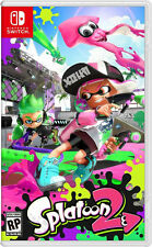 Splatoon 2 Game - Brand New & Sealed Nintendo Switch 2017