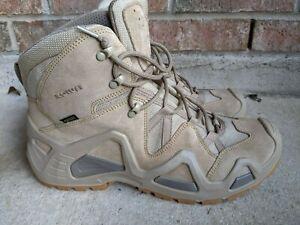 Size 13 Lowa zephyr tactical hiking goretex waterproof tan mid boot