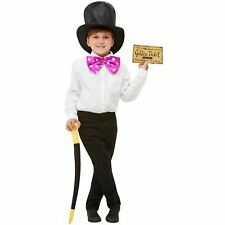 Kids Willy Wonka Charlie And The Chocolate Factory Book Week Costume Kit
