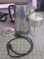 Dominion Electric ( Cup COFFEE  PERCOLATOR  model 1601 - Glass Topper - Works
