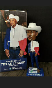 Adrian Beltre 2021 Texas Rangers Collectible Bobblehead (SGA) 4/10/21