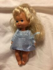 """1976 Blonde Hair Doll • Pre-owned • Nice Condition • 5"""" • Vintage Playhouse Toy"""