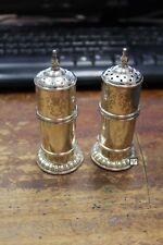 Sterling Silver Salt & Pepper Shaker , Wt - 97gm (OOAK)