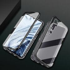 360° Magnetic Double Glass Case Cover For Xiaomi Redmi Note 8T Pro Mi 10 Note 10