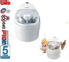 Brand New! Kenwood IM200 1.1 L Crème Glacée/Soft Serve Fabricant Machine en blanc