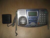 Panasonic KX-TG2740S 2.4 GHz 2 Lines Cordless Phone Base