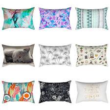 LK_ Geometric Colorful Art Pillow Case Throw Cushion Cover Home Decor Gift Eye