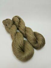 Linen yarn thread, 3-ply, light fingering, 50 g, LITTLE MOUSE