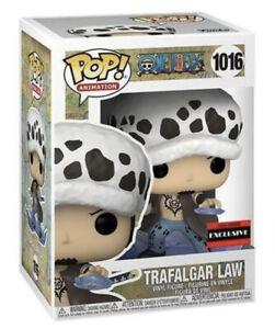 FUNKO POP! One Piece TRAFALGAR LAW #1016 AAA EXCLUSIVE Confirmed W Protector