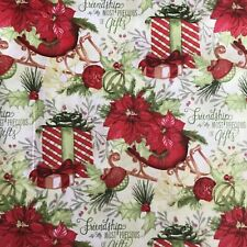 Fabric Christmas Gifts 100% Cotton Fabric by the Yard Springs Creative