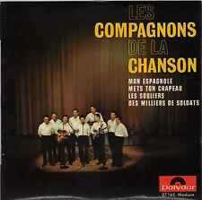 LES COMPAGNONS DE LA CHANSON MON ESPAGNOLE FRENCH ORIG EP
