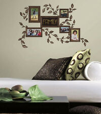 FAMILY PHOTO PICTURE FRAMES wall sticker 50 decals leaves branches photographs