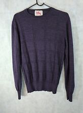Orley Merino Wool /Silk Blend Textured Italian Sweater S