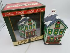 Coca-Cola Town Square Collection General Store Us Post Office 1993 Christmas