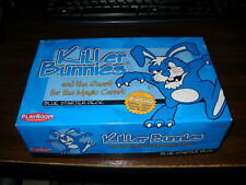 Killer Bunnies: Blue Starter Deck + Yellow Booster Deck: Complete