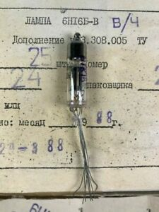 6N16B-V Soviet Russian Double Triode Tubes NOS Lot of 1 tube or more