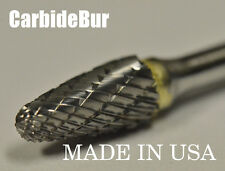 "New listing New 1/8"" Tree Radius Carbide Bur Tool Bit for Die Grinder Sf-51 Double"