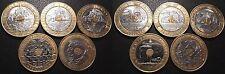 Vème République - lot de x5 20 francs de 1992 à 1995 qualité !! F#403, 404 & 405