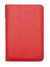 Original case/cover PocketBook Touch Lux 3 626 Plus red-grey red-gray dots