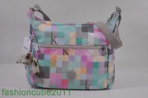 New With Tag Kipling ALENYA Shoulder CrossBody Hobo Bag HB6629-K Squared Seafoam