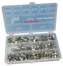 Jubilee 165 Piece Stainless Steel Junior Mini Fuel Clip Assorted pack
