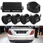 4x Parking Sensors Car Auto Reverse Backup Rear Radar Led Alert System Kit