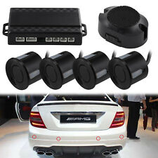 4x Parking Sensors Car Auto Reverse Backup Rear Radar LED Alert System KIT