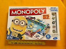 Despicable Me 2 Minions Monopoly Board Game New Sealed Family Game Universal.