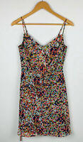 Portmans Womens Dress Size 8 Polka Dot Multicoloured Sleeveless Good Condition